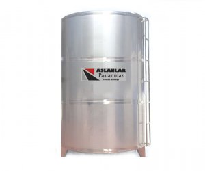 20 Ton Stainless Steel Tank Cylindrical Vertical Liquid Tank