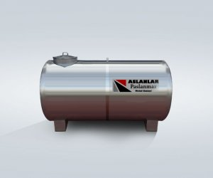 20 Ton Stainless Steel Tank Cylindrical Horizontal